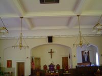 Methodist Church Interior