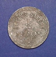 Kelly's Bakery Token 1